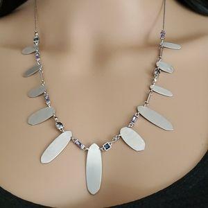 Kendra Scott Airella Lilac Mix Choker Necklace